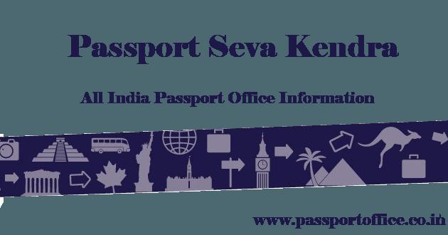 Passport Seva Kendra Shalimar Place